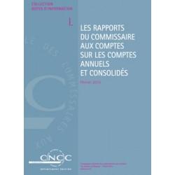 NI I. Les rapports du Commissaire aux comptes sur les comptes annuels et consolidés