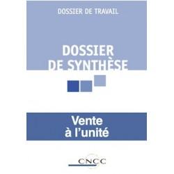 Dossier de synthèse - à l'unité