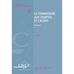 NI III. Version 2 Le Commissaire aux comptes et l'Alerte