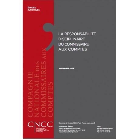 La responsabilité disciplinaire du CAC