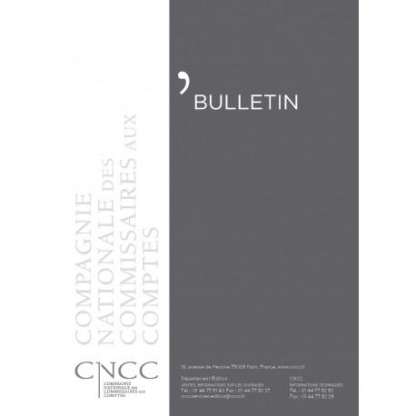 Bulletin CNCC - Abonnement