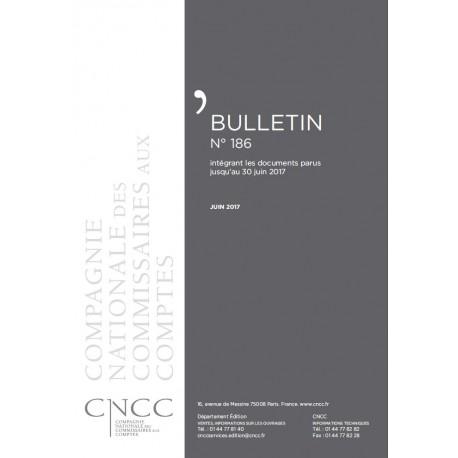 Bulletin CNCC - JUIN 2017 - N° 186