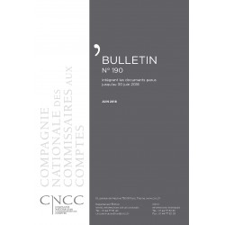 Bulletin CNCC - JUIN 2018 - N° 190