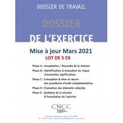 Dossier de l'exercice - par lot de 5