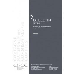 Bulletin CNCC - JUIN 2019 - N° 194
